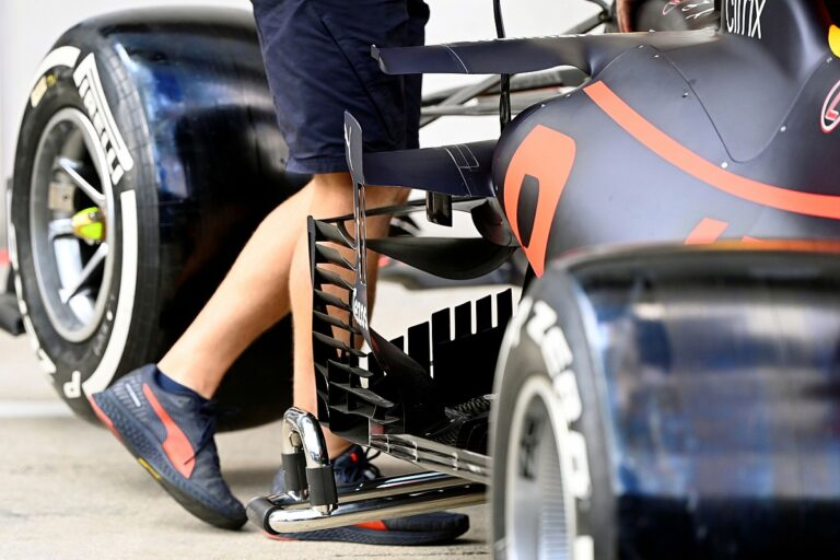 Best F1 technical images from the pitlane