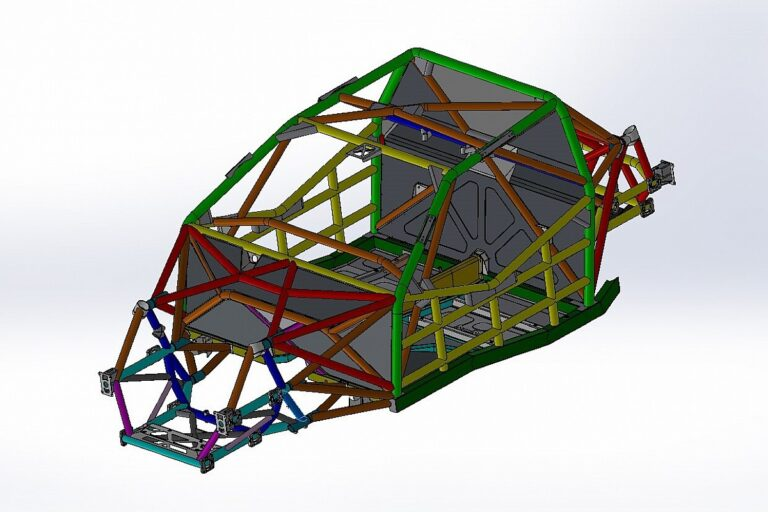 Supercars unveils CAD drawings of Gen3 chassis