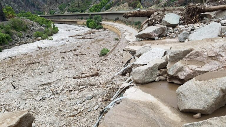 Colorado Flood Shuts Highway With Damage 'Unlike Anything' Seen Before