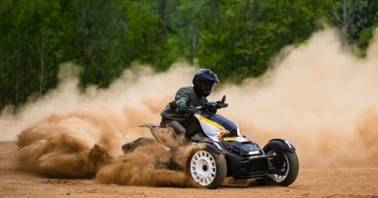 Can-Am Goes Off the Pavement With Its 2022 Three-Wheelers