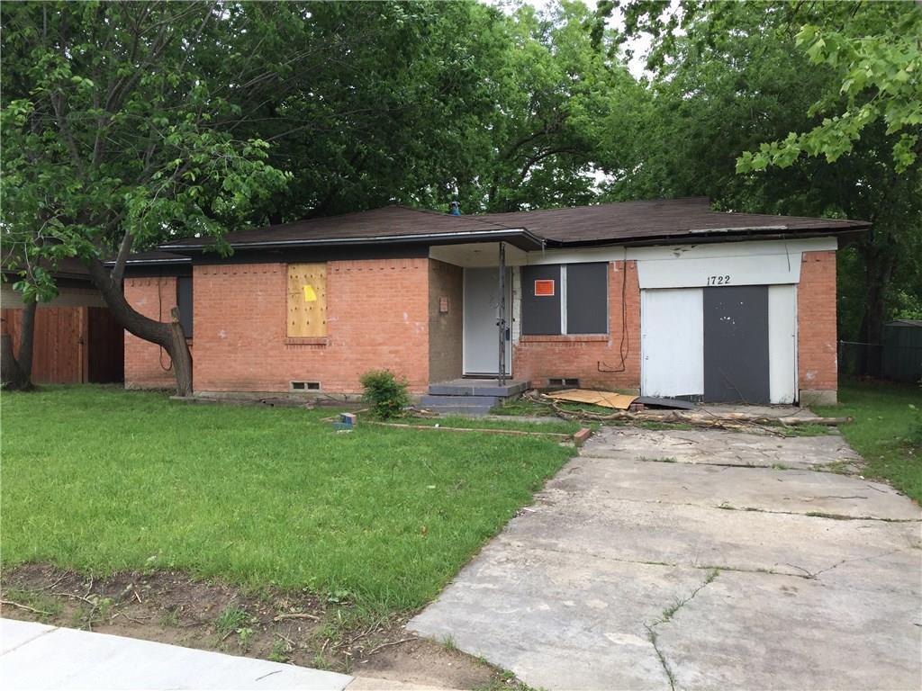 1722 Belmont St, Mesquite, TX