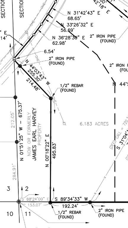 Land 6.183 Acres, Quitman, LA