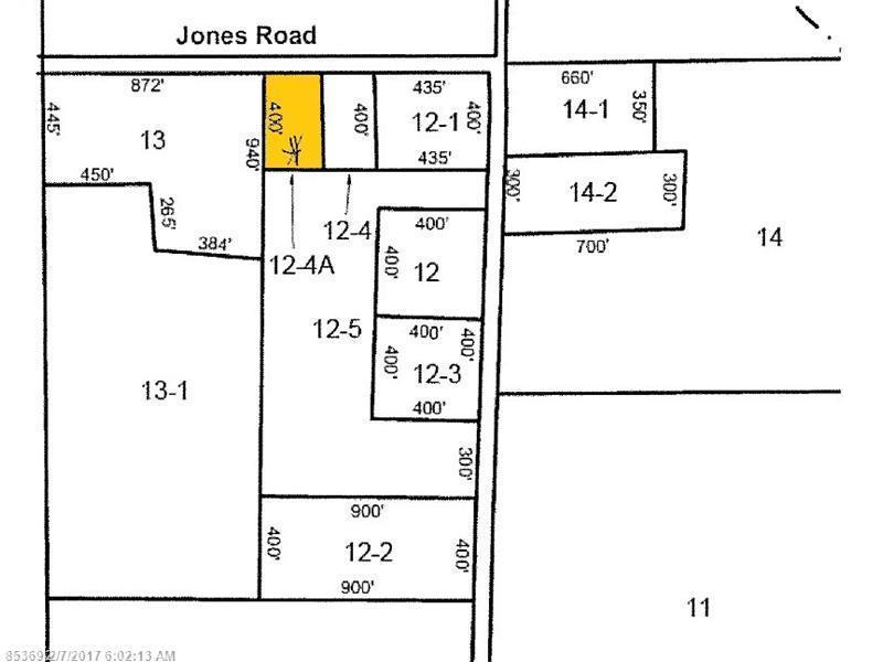 Lot 12-4A Map 9, Bradford, ME