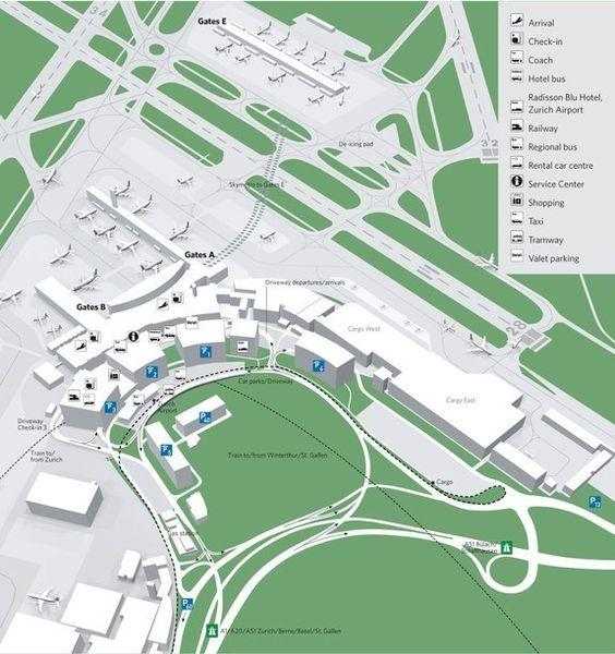 Аэропорт Zurich-Kloten