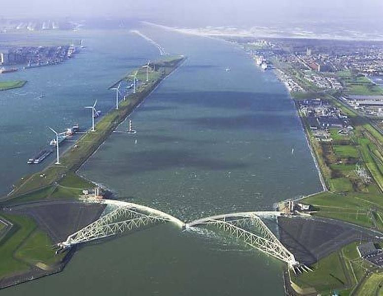 Новая голландская линия защиты от затоплений