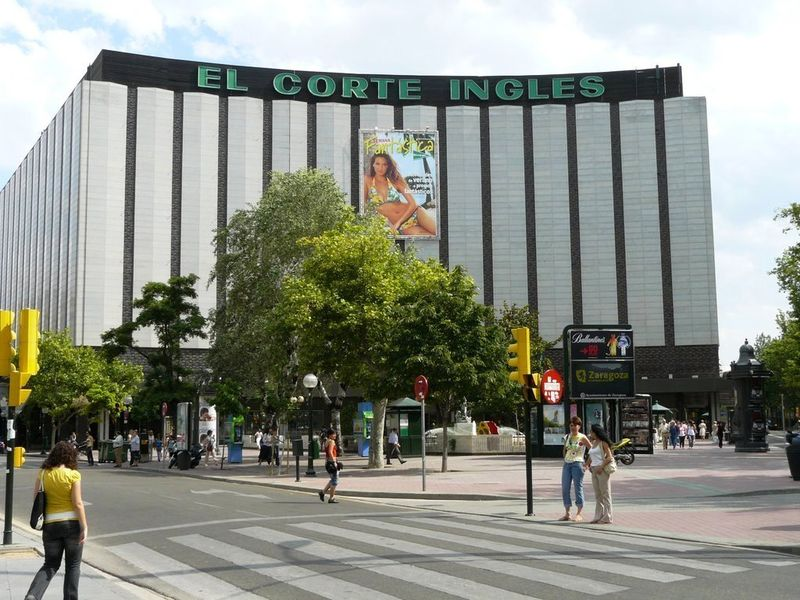Centro Comercial El Corte Ingles Zaragoza
