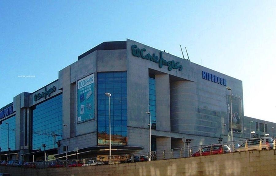 Centro Comercial El Corte Ingles Santiago de Compostela
