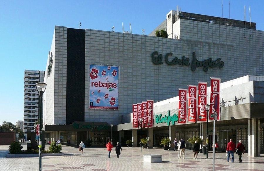 Centro Comercial El Corte Ingles Malaga