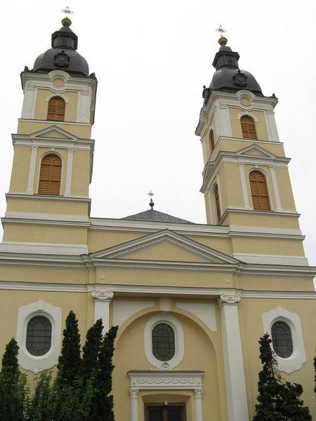 Греко-католическая церковь и дворец епископа