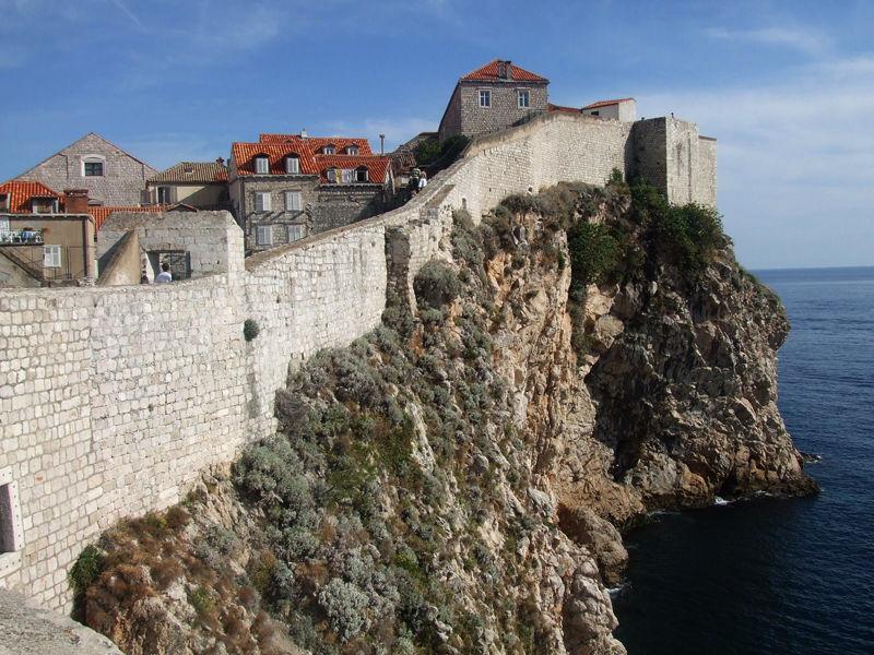 Стена в Дубровнике