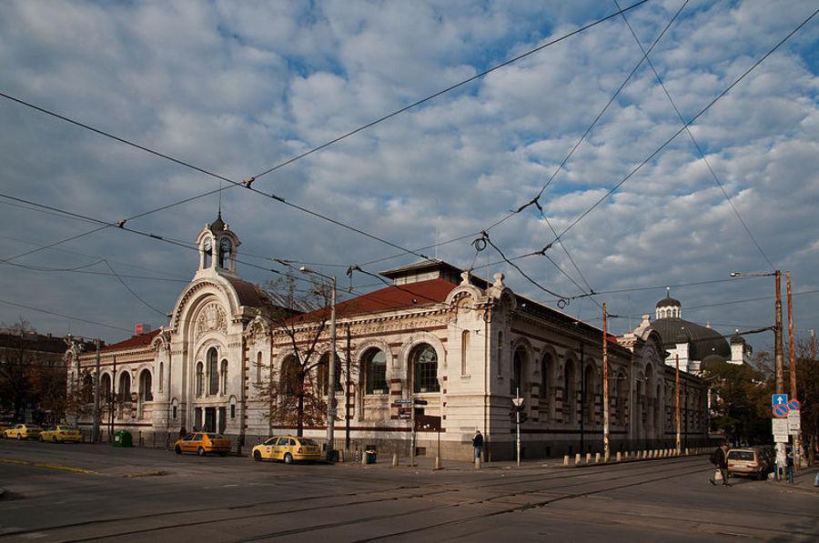 Центральный крытый рынок в Софии