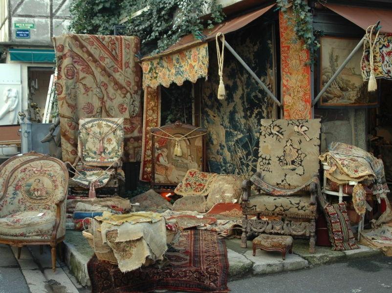 Блошиный рынок в Сент-Уане