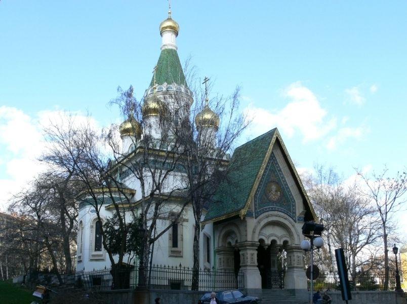 Русская церковь Николая Чудотворца в Софии