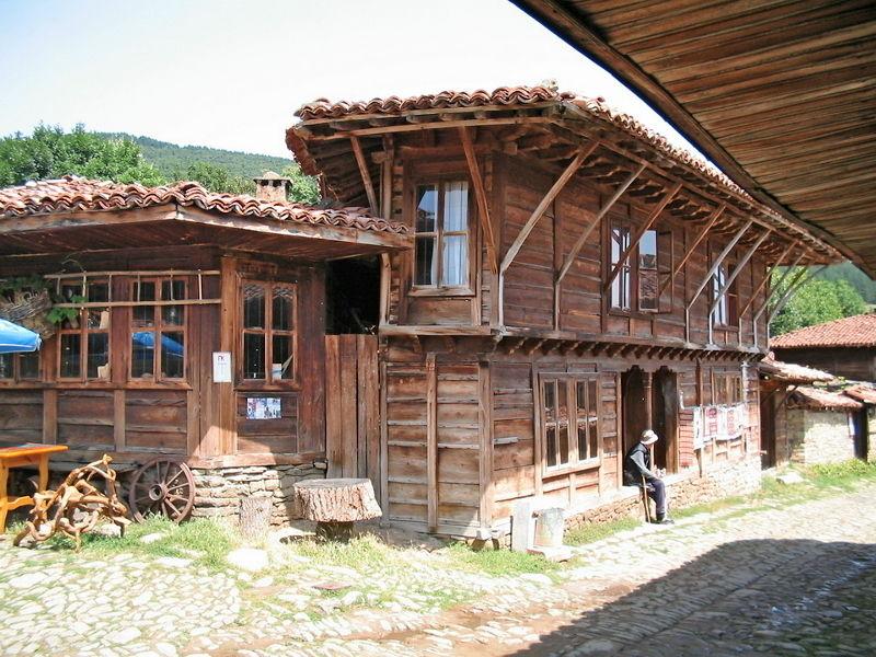 Деревня-музей Жеравна