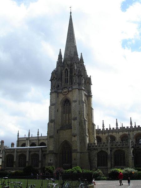 Церковь Св. Девы Марии, Оксфорд