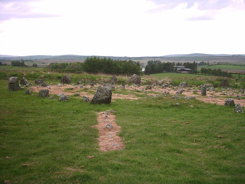Каменные круги Бигмор