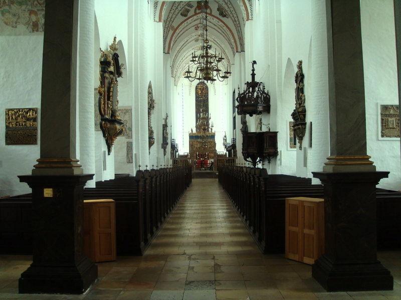 Собор города Орхус