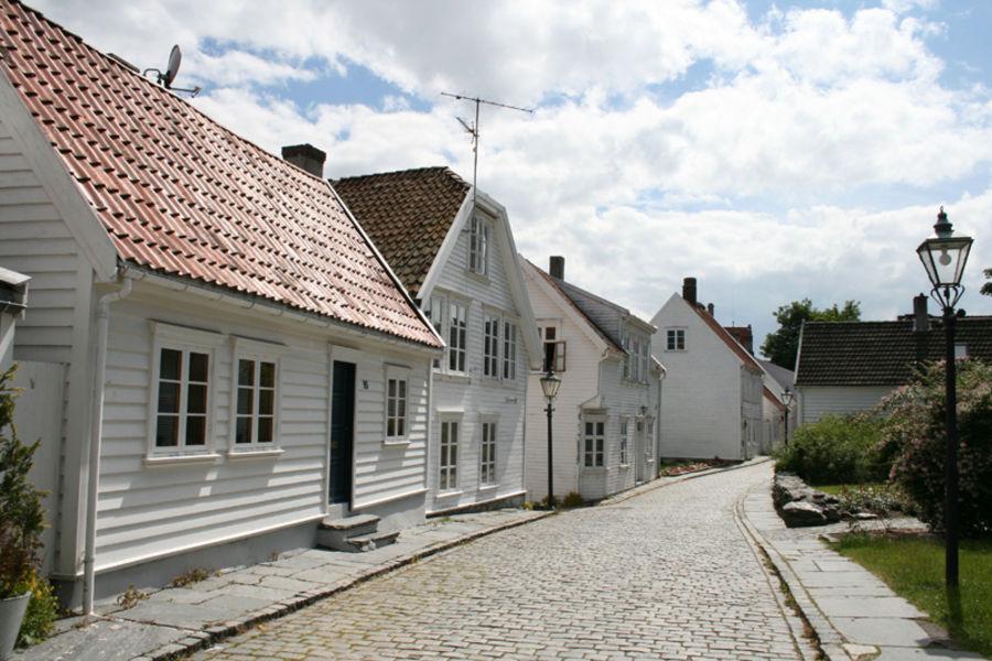 Старый город в Ставангере