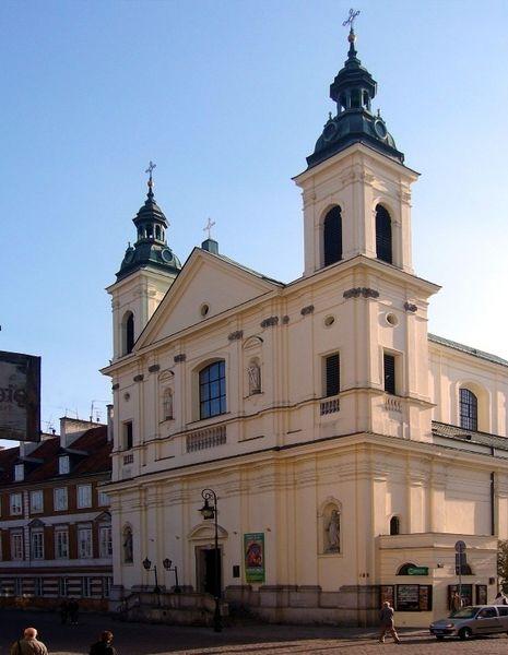 Костел Святого Духа, Варшава