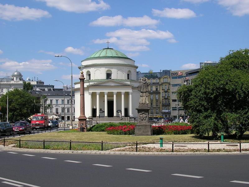 Площадь Трех Крестов