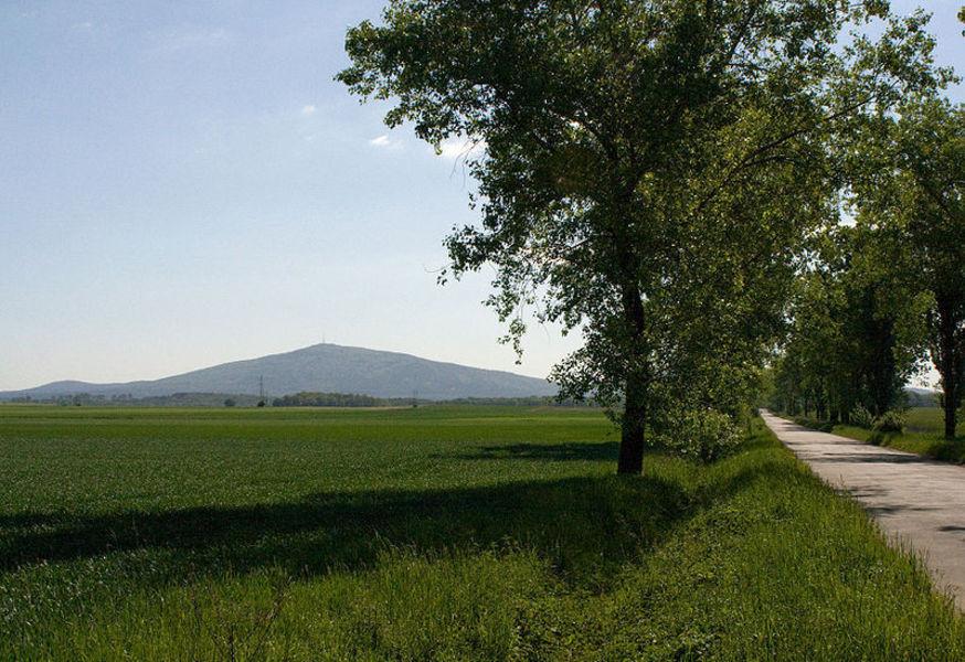 Гора Слёнжа