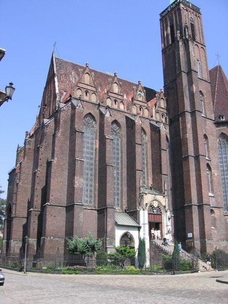 Костел Святого Креста, Вроцлав