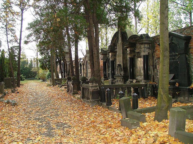 Еврейское кладбище, Вроцлав