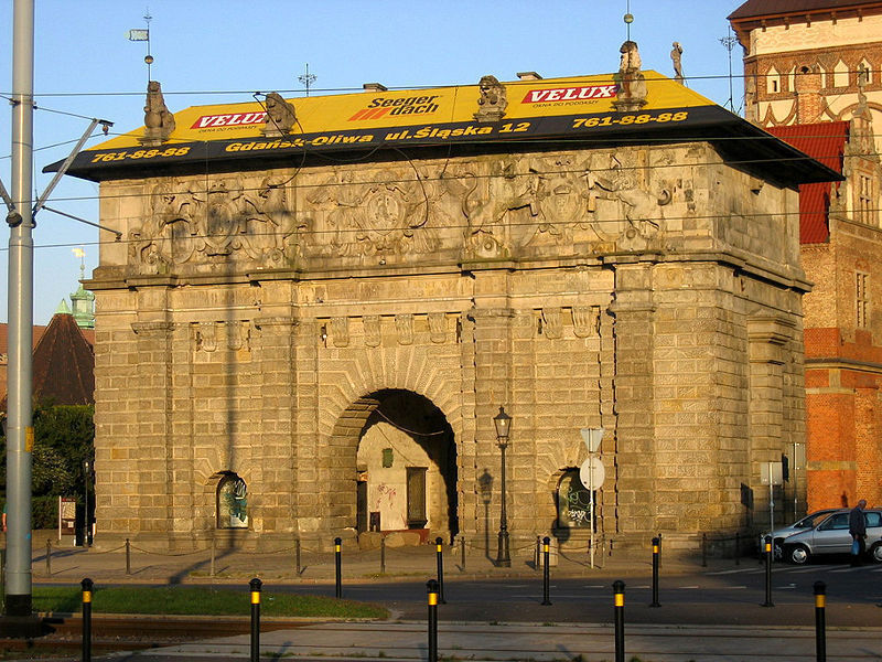 Верхние ворота, Гданьск