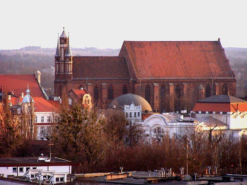 Костел Девы Марии, Торунь