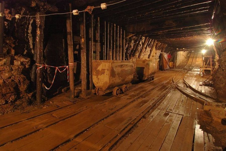 Подземный музей в шахте в Кохтла-Ярве