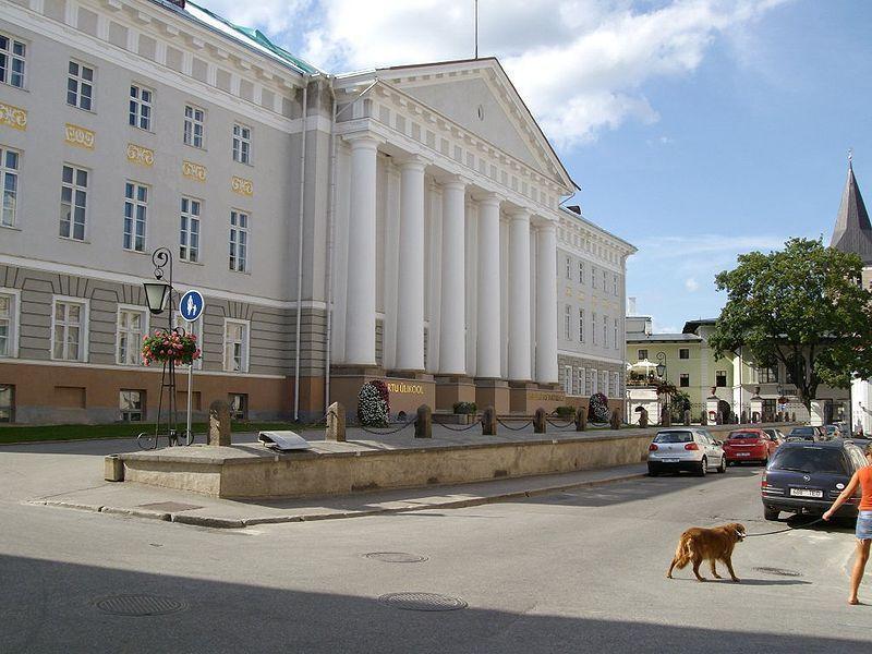 Главное здание Тартуского университета