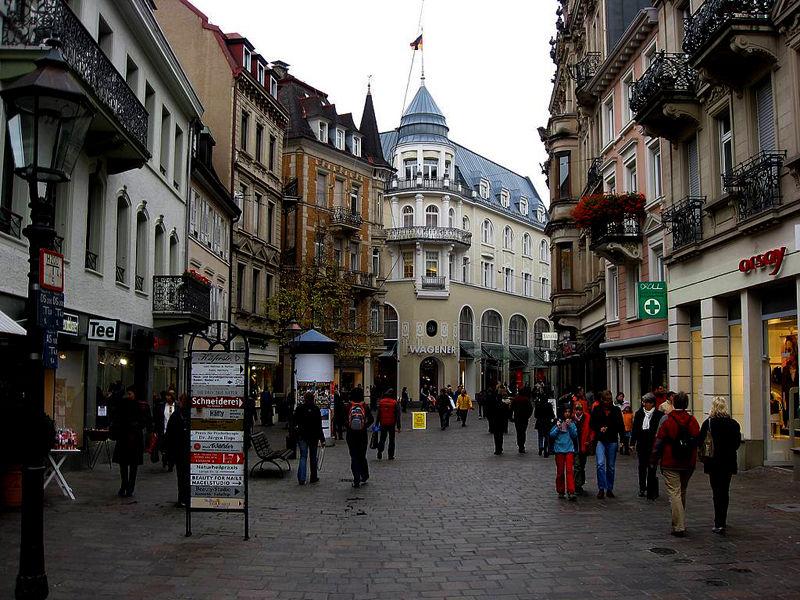 Улочки Старого Баден-Бадена