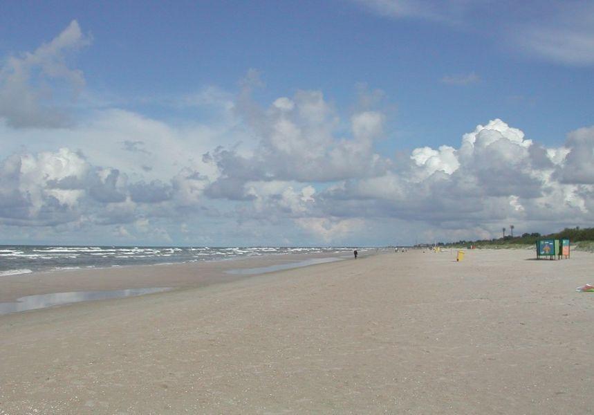 Лиепайский пляж