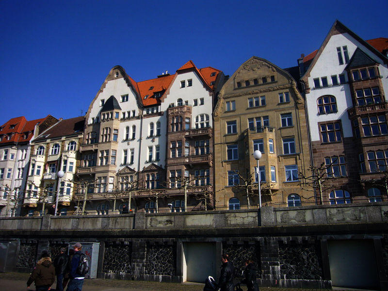 Старый город, Дюссельдорф
