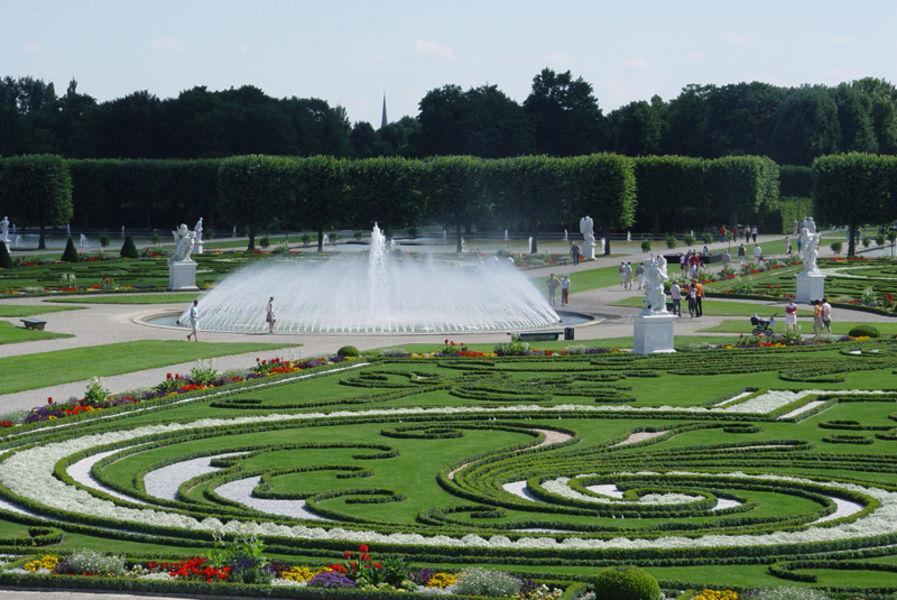 Сады района Херренхаузен