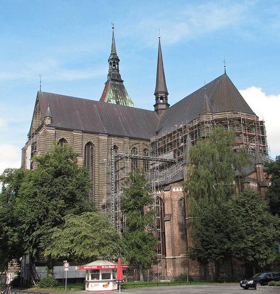 Церковь Св. Марии, Росток