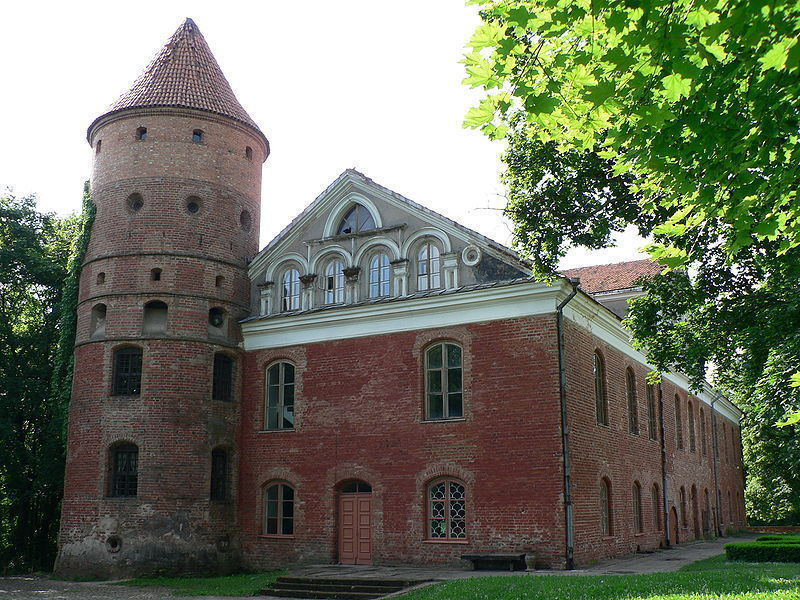 Замок Раудондварис