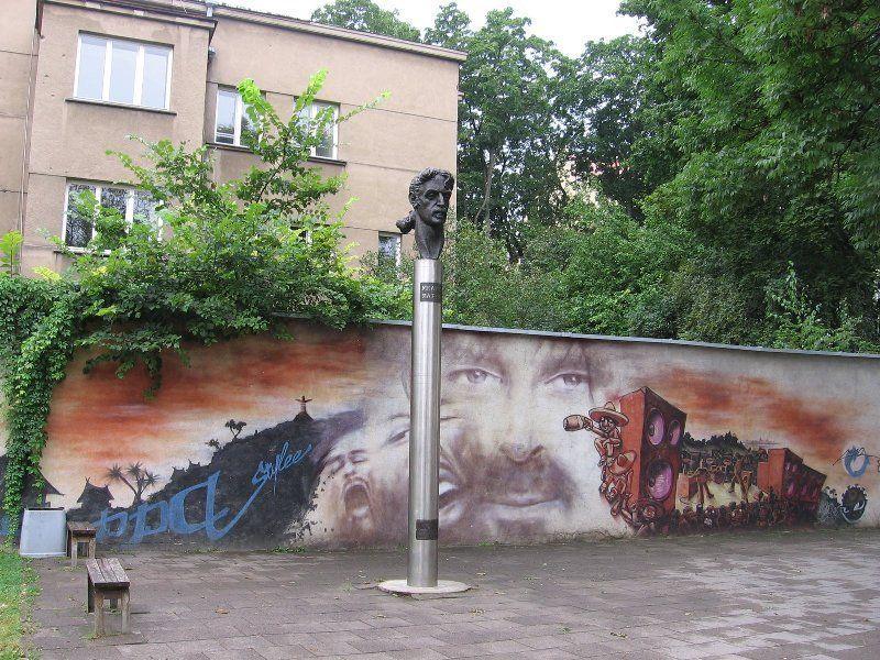 Памятник Фрэнку Заппе