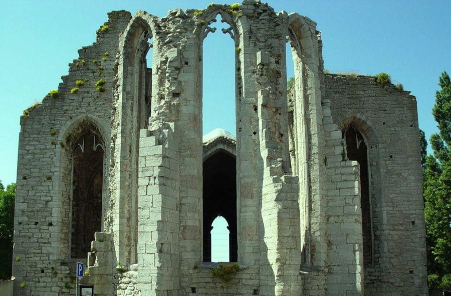 Руины монастыря Св. Николая