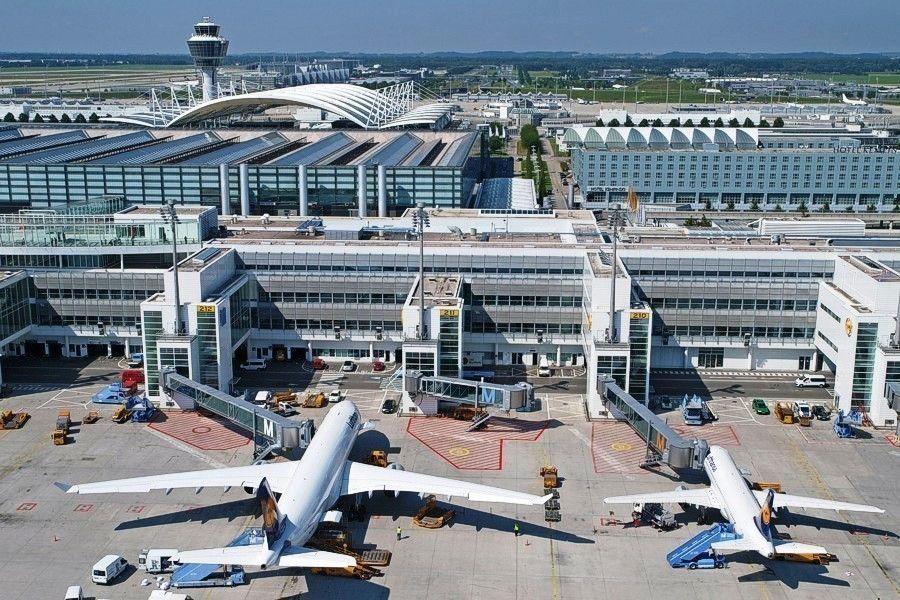 Международный аэропорт Мюнхена (Flughafen München Franz Josef Strauß)