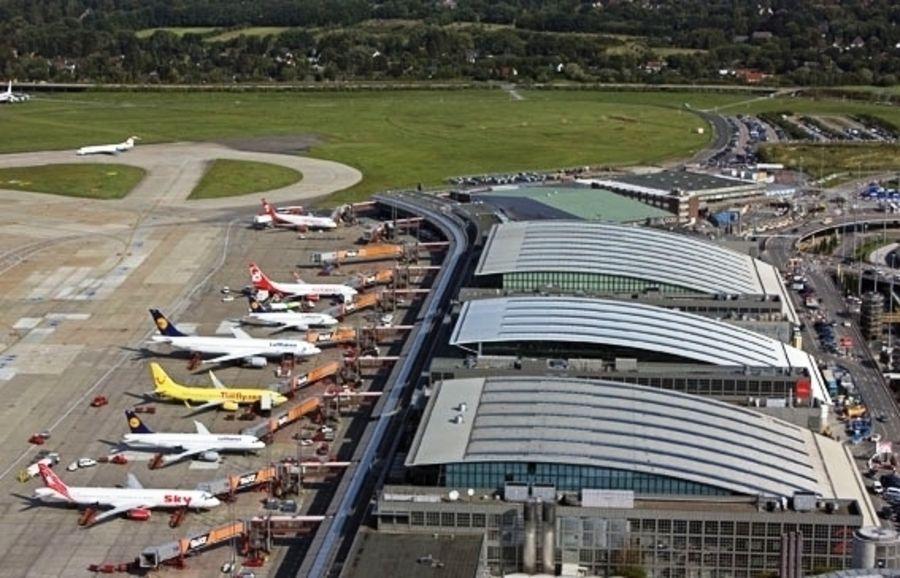 Аэропорт Гамбург (Flughafen Hamburg-Fuhlsbüttel)