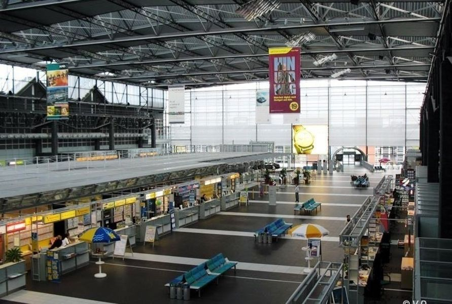 Аэропорт Дрезден-Клоче (Flughafen Dresden-Klotzsche)