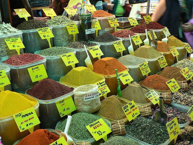 Египетский рынок специй