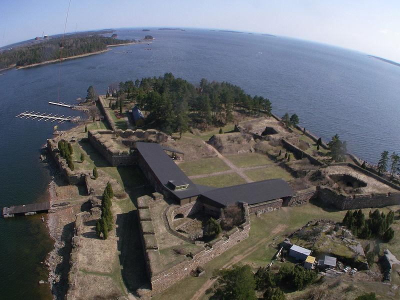 Морская крепость Свартхольм