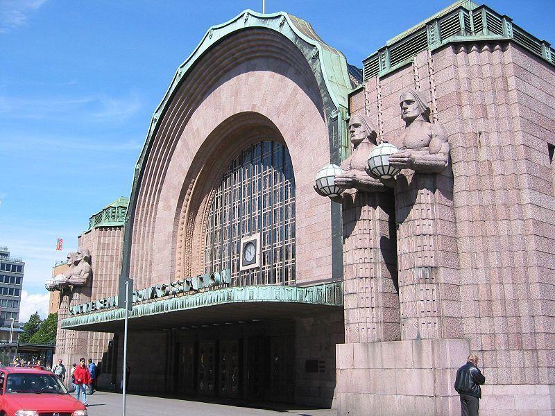 Железнодорожный вокзал Хельсинки