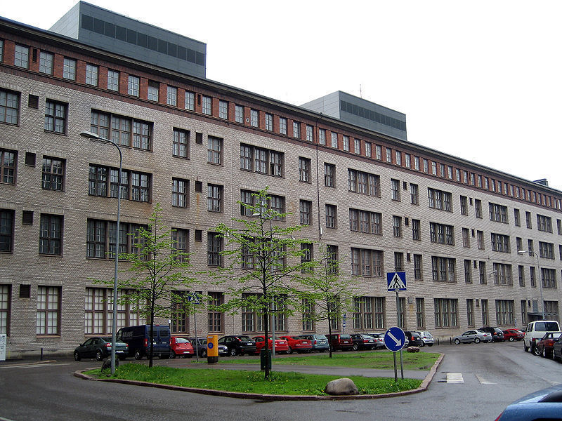 Здания кабельной фабрики