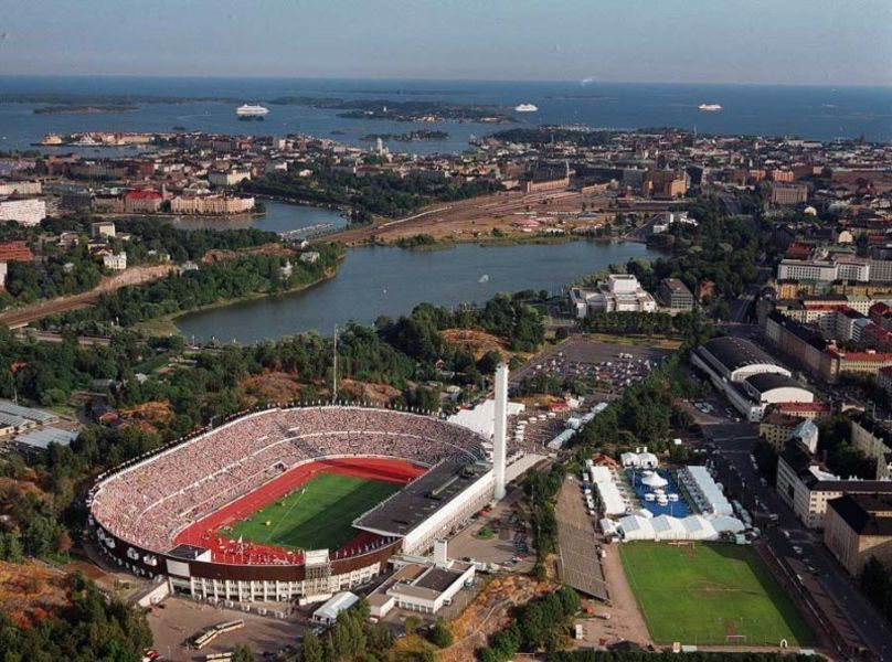 Олимпийский стадион и музей спорта Финляндии