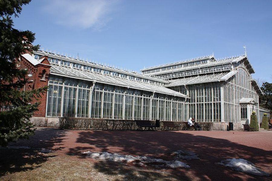 Городской зимний сад