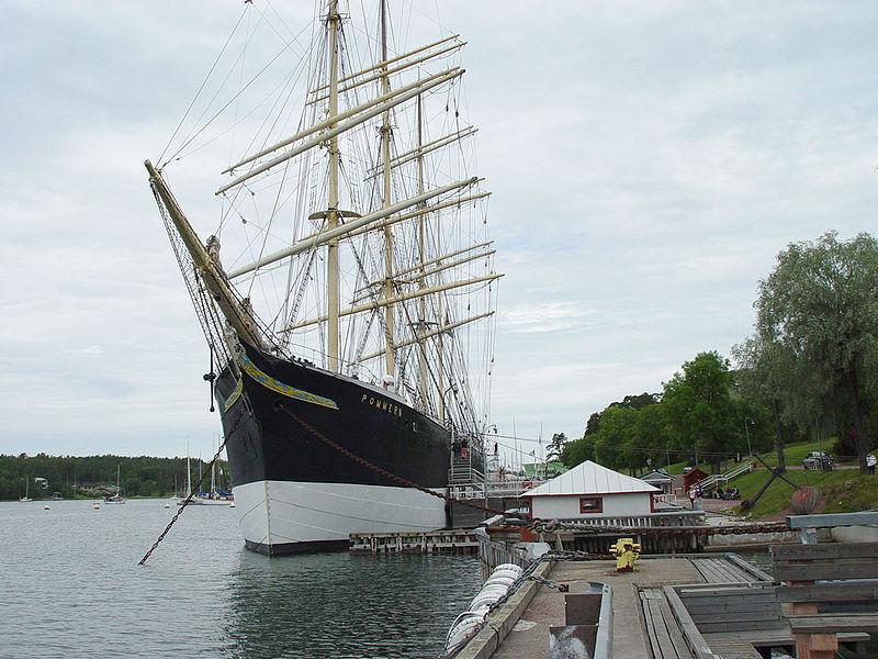 Корабль-музей «Поммерн»