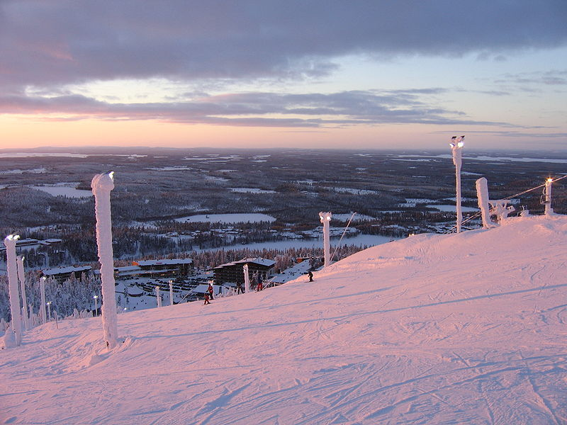 Лыжный курорт Рука
